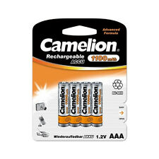 PROMO : 8 accus Piles rechargeables AAA/LR3 1100mAh CAMELION