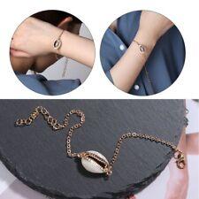 2018 New Gold Color Cowrie Shell Bracelet Adjustable Fashionable Chain Bracelet