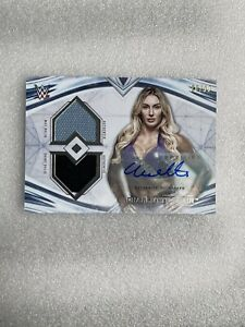 2020 Topps WWE Undisputed CHARLOTTE FLAIR Dual Relic AUTO #'d /99