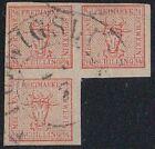 Mecklenburg-Schwerin Michel Nr. 4, Block aus 3/4 tadellos gestempelt altsigniert
