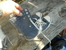 CONVERSE ALL STAR BLEU JEAN MONTANTES MODELE RARE T 39 BE REPLIABLES 21€ ACH IM