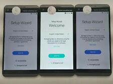 Lot of 3 LG V20 VS995 Verizon Check IMEI GLC LR-1505