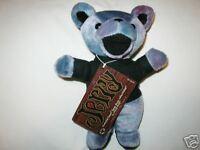Grateful Dead Bean Bag Bear  JERRY  edition #2  Retired