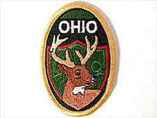 Ohio Whitetail Deer Embroidered Souvenir Patch