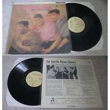 THE TERRIFIC PETERS SISTERS - Featuring Virginia Vee LP Swing Jazz