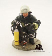 Figurine Collection Del Prado Pompier Tenue de Feu Gottingen Allemagne 2004