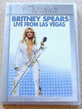 BRITNEY SPEARS Live from Las Vegas DVD SOUTH AFRICA Cat# DVDZOM2200