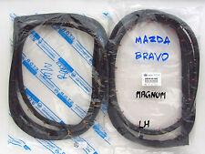 85-98 MAZDA BRAVO B SERIES B2000 B2200 B2600 PAIR DOOR WEATHERSTRIP RUBBER SEAL