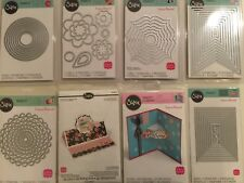Sizzix Framelits Die Set Pick 1 of 12 Dies New