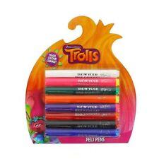 Dreamworks Trolls - Magic Colour Change felt Pens - Kids Gift -Trolls Felt Pens