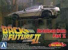 Ritorno Al Futuro 2 - Back To The Future Delorean Part II 1:43 Plastic Model Kit