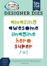 Echo Park Imagine That Boy ~ Amazing Superhero ~ Designer Dies Set