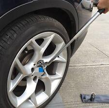 Extendable Wheel Brace Wrench Telescopic Car Van Socket Tyre Nut 17 19 21 23 mm