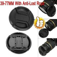 Lens Cap 39/55/58/72/77mm For all Lenses & Cameras SLR DSLR Cap  Lens Univers