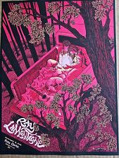 Ray LaMontagne Mini-Concert Poster Reprint for 2014 Greenville SC  14x10