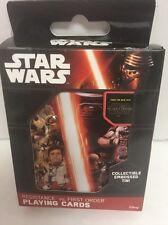 Star Wars: RESISTANCE Vs. FIRST ORDER Playing Cards w/Embossed Tin by Cartamundi