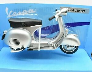 Collection Models vespa motorcycle Scale 1:12 150 GS diecast Motor Bike