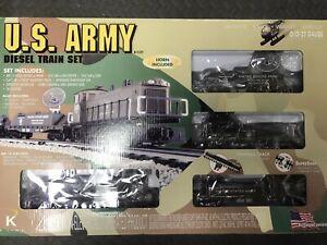 Lionel-K-Line K1127 US Army Diesel Train Set