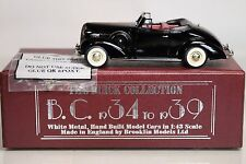 Brooklin Models 1/43 Scale B.C. 026 - 1936 Buick Special Convertible Coupe M-46C