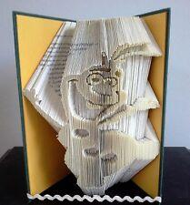 Book Folding PATTERN  Cut and Fold, Olaf, Frozen, Disney