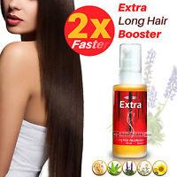 Long Hair Booster Accelerator Hair Growth Serum Lengthen Grow Longer Hair Fast