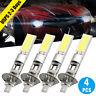 4x H1 LED Headlight Hi-Low Beam 100W Fog Lights SMD CREE White Bulbs Vehicle