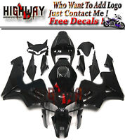 Black Injection ABS Fairing Bodywork Kit For Honda CBR600 CBR600RR F5 2005 05 06
