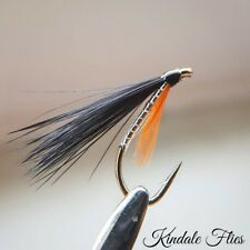 Silver / Orange  Cormorants Size 10 (Set of 3) Fly Fishing Flies Fry