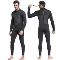 Men's Full Body Wetsuit 3mm Men Neoprene Long Sleeve Dive Suit Triathlon Wetsuit