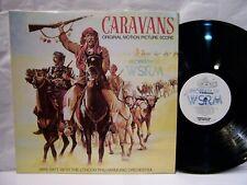 Caravans OST MIKE BATT & THE LONDON PHIL ORCH  1979 Epic WLP  NM!