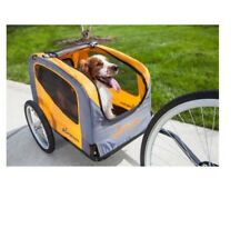 Bike Pet Trailer Rascal Adjustable Bug Screen Bicycle Aluminum Rims Safety Steel