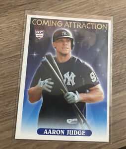 Coming Attraction, Aaron Judge, RC, Aceo RP