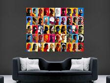 Superhéroes de Marvel Comics arte cartel Collage enorme cartel impresión grande gigante