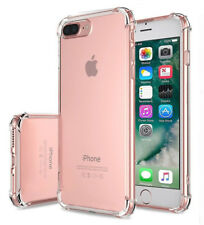 2Pcs For iPhone8 6S 7 Plus X 5S SE Ultra Thin Clear TPU Crystal Soft Rubber Case