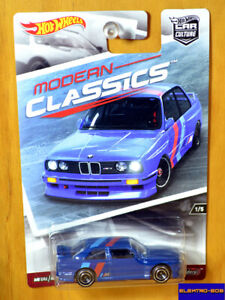 Hot Wheels '92 BMW M3 [Blue] Modern Classics Premium - New/Sealed/XHTF[E-808]