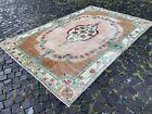 Large rug, Turkish rug, Vintage rug, Handmade rug, Wool, Carpet | 6,5 x 9,9 ft