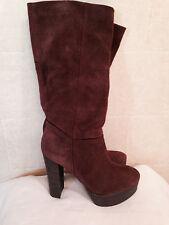 Nine West Women's Escape Goat suede Leather Fashion  Boots.