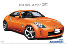2007 Nissan 350Z Z33 Fairlady Z 1:24 Model Kit Bausatz Aoshima 053089