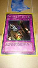 Solemn Judgement DLG1 EN046 Super Rare Yugioh
