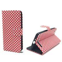 Xiaomi Redmi 3 Hülle Case Handy Cover Schutz Tasche Flip Schutzhülle Bumper Rot
