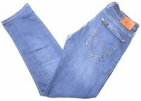 LEE Womens Jeans W33 L30 Blue Cotton Straight Powell MC09