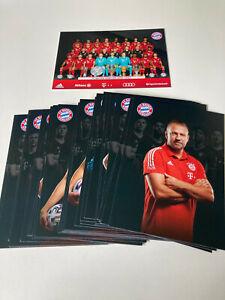 FC Bayern München Original Autogrammkarten Satz 2020//21 NEU!!! 36 Stück