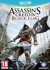 Assassins Creed IV -  Black Flag For PAL Wii U (New & Sealed)