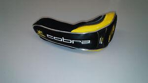 New Cobra S2 Max Black/Gold Hybrid Headcover #6