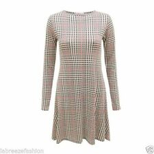 Check Dresses Size Petite Viscose Mini for Women