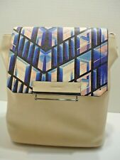 New - Danielle Nicole Printed Jett Backpack Ivory Bag Purse Retail $ 88.00