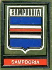 Meister Sampdoria Figur Fußballer panini 1980 1981 Mit Seidenpapier Befestigt
