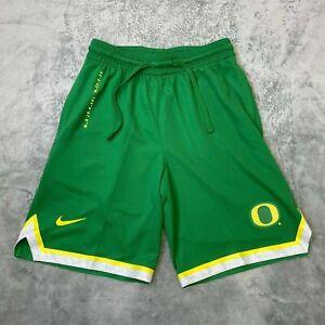 Nike NCAA Oregon Ducks Dri-Fit Basketball Shorts Green CN1663-377 Men's Size S