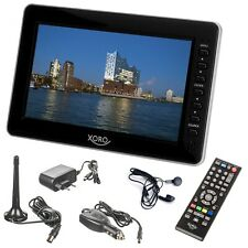 Camping TV DVB-T2 Fernseher Xoro PTL 1010 mit USB Mediaplayer 10 Zoll 25,6cm