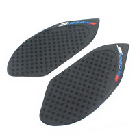Tank Traction Pad Side Gas Knee Grip Protector Black For BMW S1000RR HP4 2013